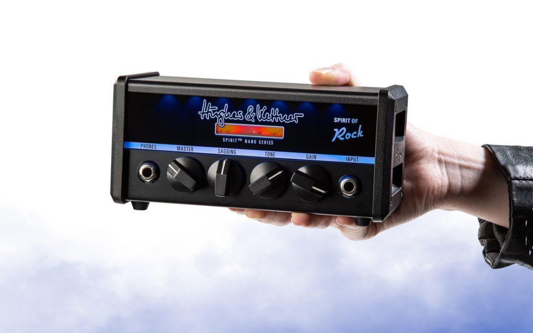 SPIRIT NANO – Hughes & Kettner steigt mit drei neuen Produkten in den Markt der Micro – Gitarrenverstärker ein