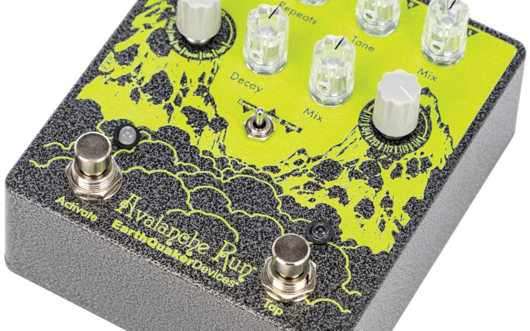 EarthQuaker Devices Avalanche Run V2 – Stereo Delay / Reverb – Limited Edition