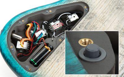 Framus & Warwick Parts – Distanzpuffer für Elektronikfächer