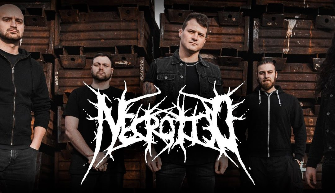 NECROTTED erste digitale Single & Track Video online