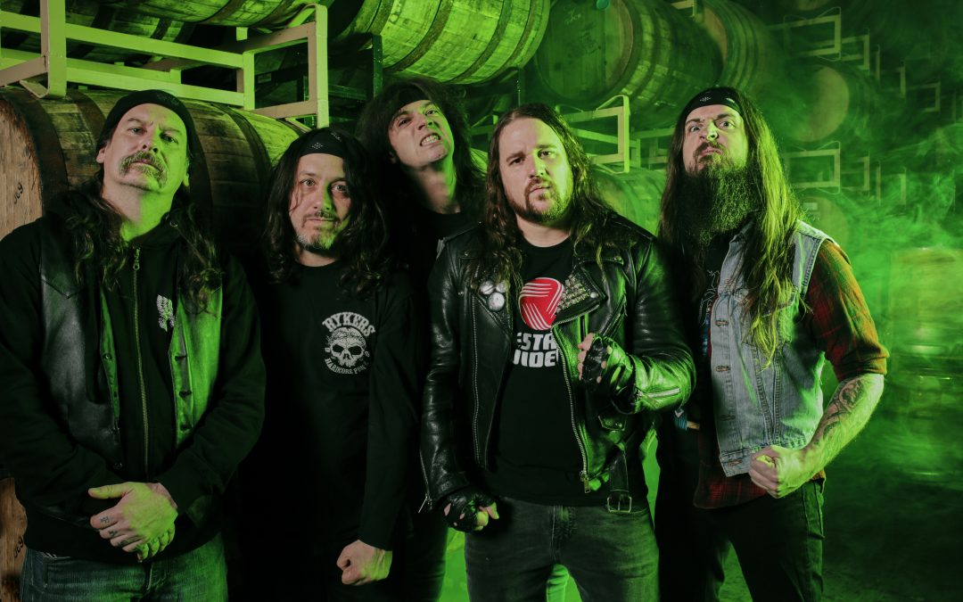 MUNICIPAL WASTE arbeiten mit RIP Custom Guitars für Ryan Wastes Signature-Gitarre, The MW-AX
