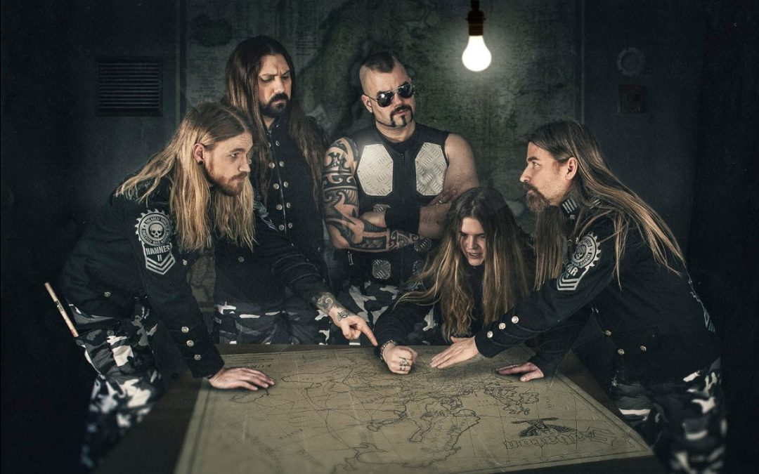 SABATON enthüllen animiertes Video für 'No Bullets Fly'