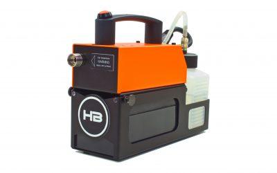 hazebase stellt Piccola vor – die erste Maschine aus einer Reihe weiterer Akku Nebelmaschinen