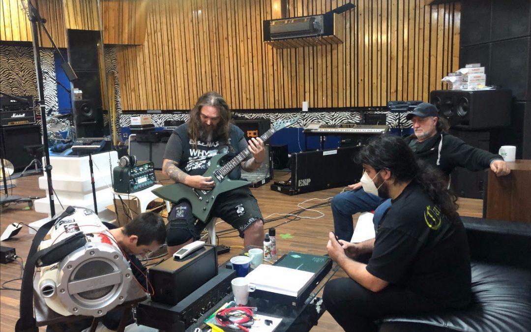 SOULFLY  sind im Studio und nehmen ein neues Album auf