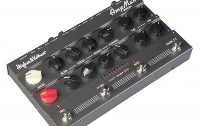 SPIRIT AmpMan– Hughes & Kettner bringt eine neue Linie von Pedal-Amps in den Handel