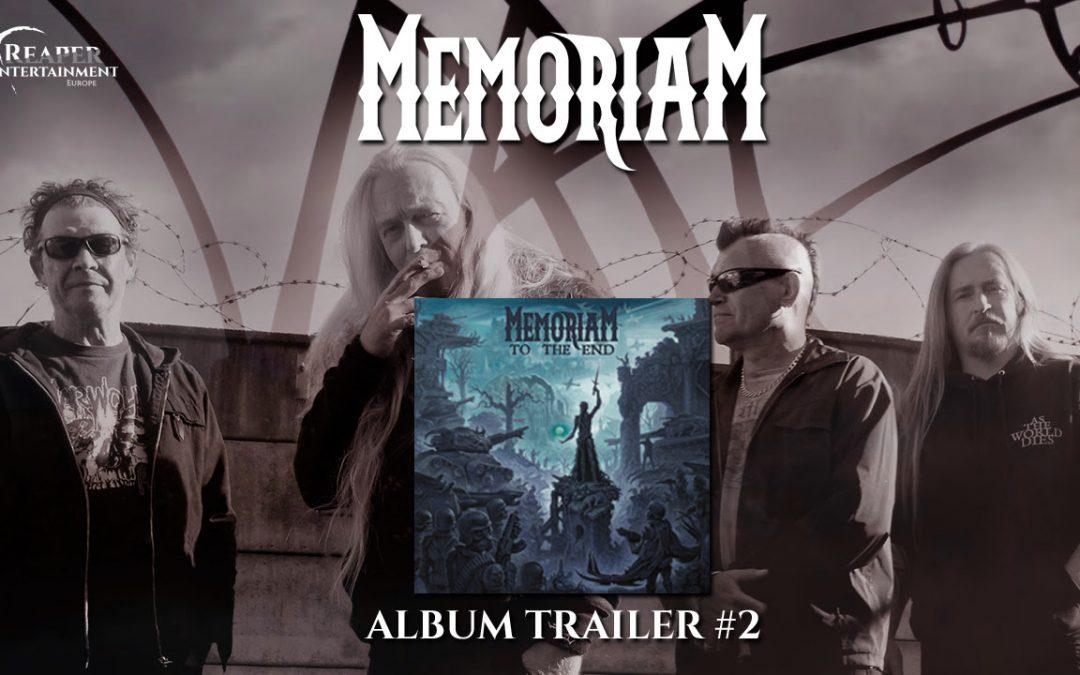 MEMORIAM zweiter Album-Trailer veröffentlicht