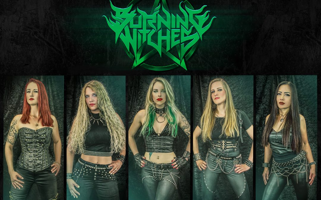 "BURNING WITCHES enthüllen Cover, Tracklist & Release-Datum ihres neuen Albums ""The Witch Of The North"" & kündigen Europa-Tour mit Primal Fear an"