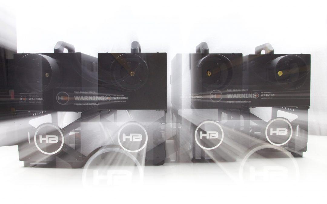 hazebase stellt mit classic2 und highpower2 zwei weitere Nebelmaschinen vor