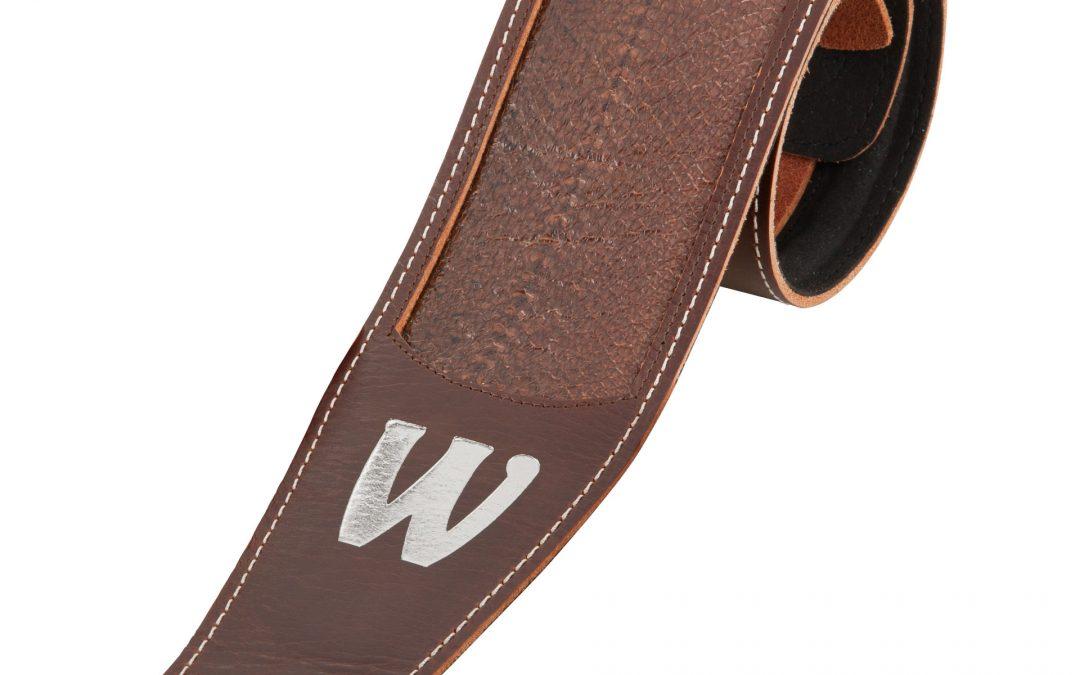 Warwick Teambuilt & Masterbuilt Genuine Leather Bass Straps
