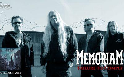 MEMORIAM – zweite digitale Single & Lyric-Video veröffentlicht