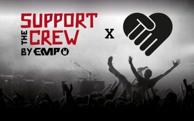 """""""Support the Crew"""" – EMP startet Soli-Aktion für die Szene mit #handforahand"""