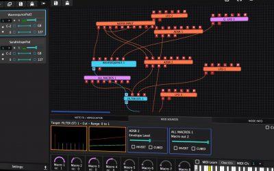 Tracktion stellt neuen Software-Synth Hyperion vor