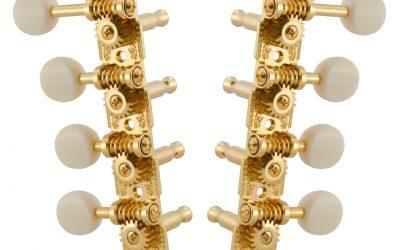 """Grover 409 Professional Mandolin Machine Heads,  für """"F""""- und """"A""""-Style Mandolinen"""