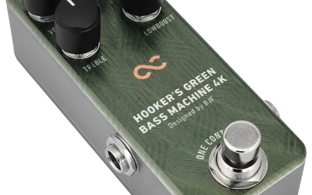 One Control Hooker's Green Bass Machine 4K –  Bass Overdrive / Distortion