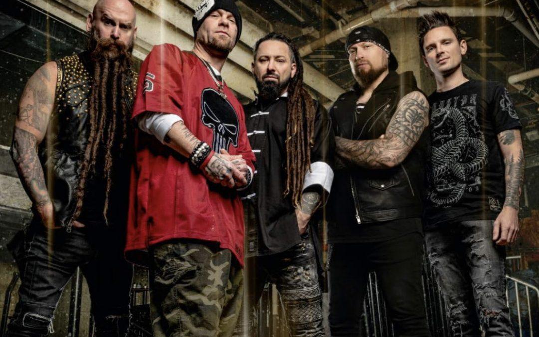 FIVE FINGER DEATH PUNCH veröffentlichen neues Musikvideo 'Darkness Settles In' aus dem aktuellen Studioalbum 'F8'