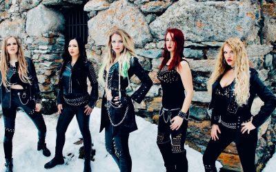 """BURNING WITCHES streamen kostenlose Release-Show für ihr neues Album """"The Witch Of The North"""""""