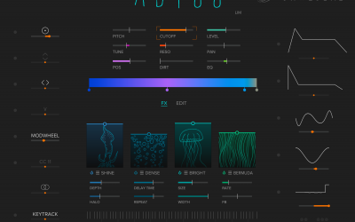 Neu bei Tracktion – Abyss Synthesizer