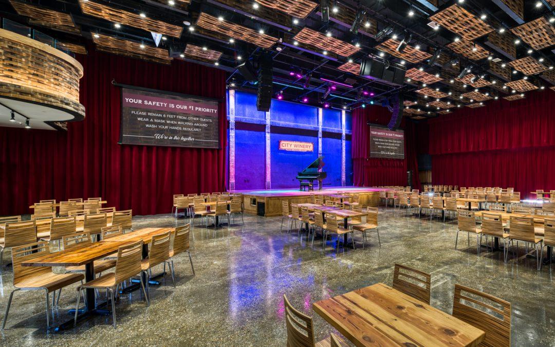 Begeisterte Reaktionen auf Meyer Sound LINA System in der neuen City Winery New York