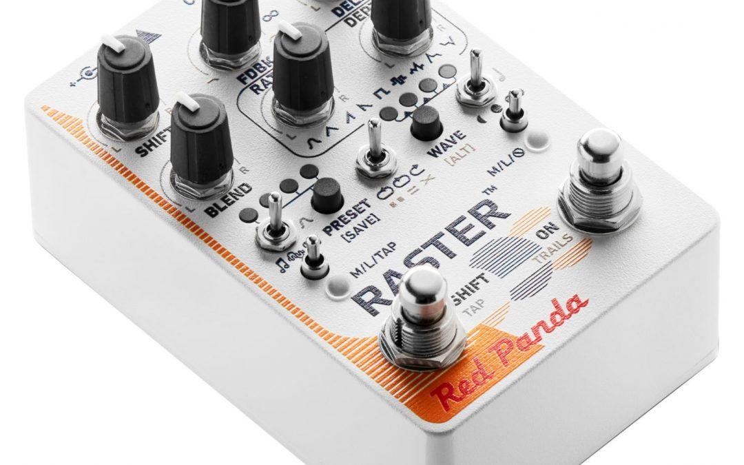 Red Panda Raster V2 – Delay
