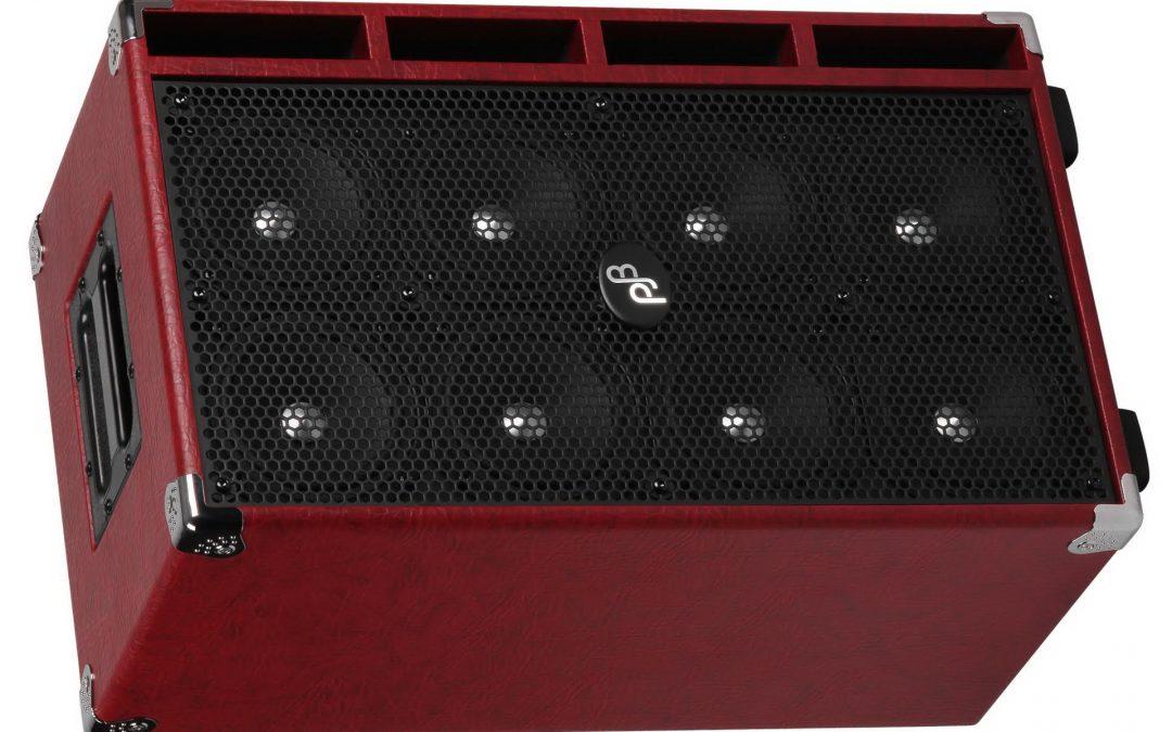 Phil Jones Bass C8 – Compact 8 Bass Cabinet, 8×5″, 800 Watt – Red