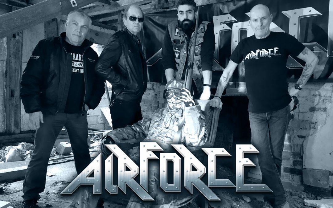 Die legendären AIRFORCE veröffentlichen erste Single und Video vom kommenden Livealbum