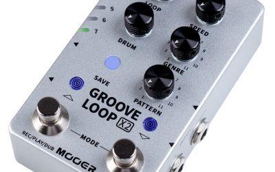 Mooer Groove Loop X2 – Stereo Looper / Drum Machine