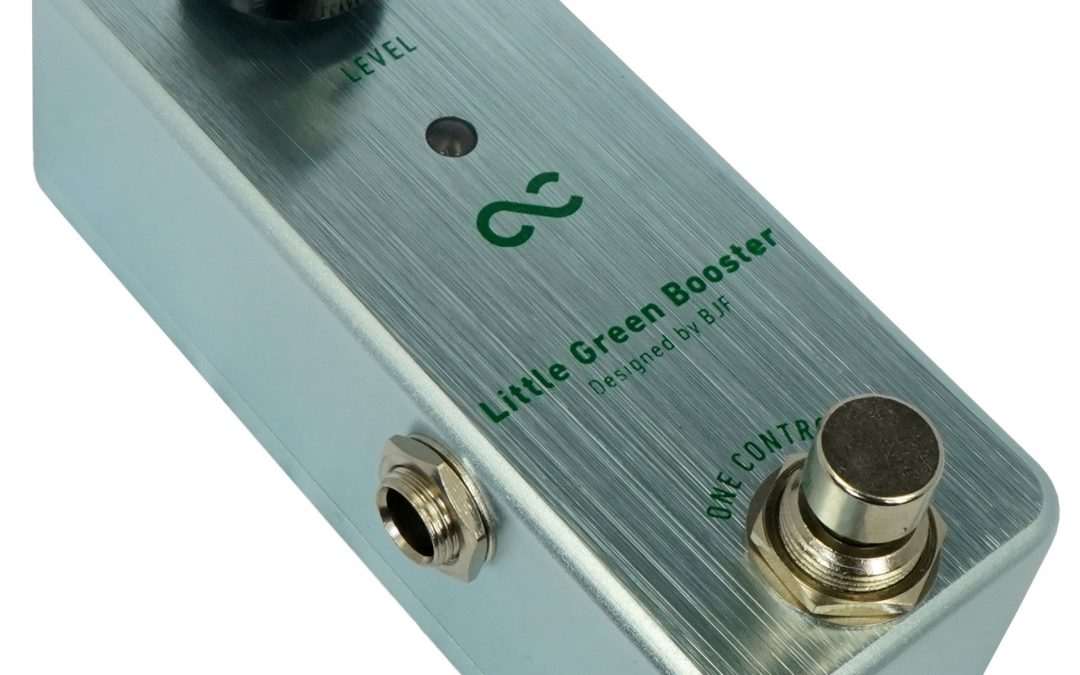 One Control Little Green Booster – Colored Boost