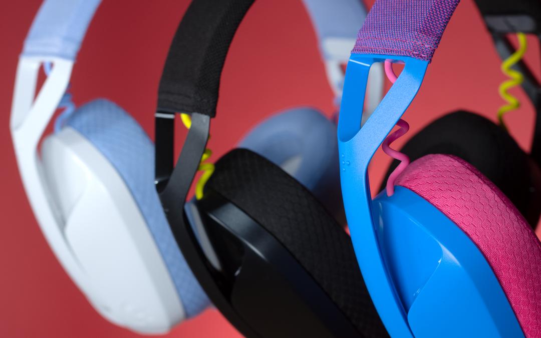 Logitech G stellt mit dem G435 sein leichtestes und nachhaltigstes kabelloses Gaming Headset vor