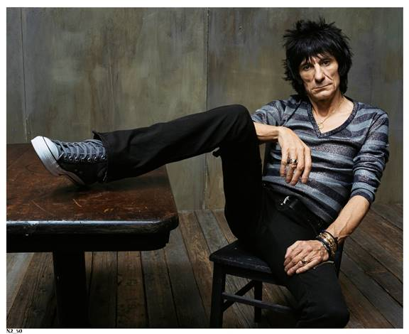 """RONNIE WOOD and the RONNIE WOOD BAND – """"MR LUCK – A TRIBUTE TO JIMMY REED: LIVE AT THE ROYAL ALBERT HALL"""""""