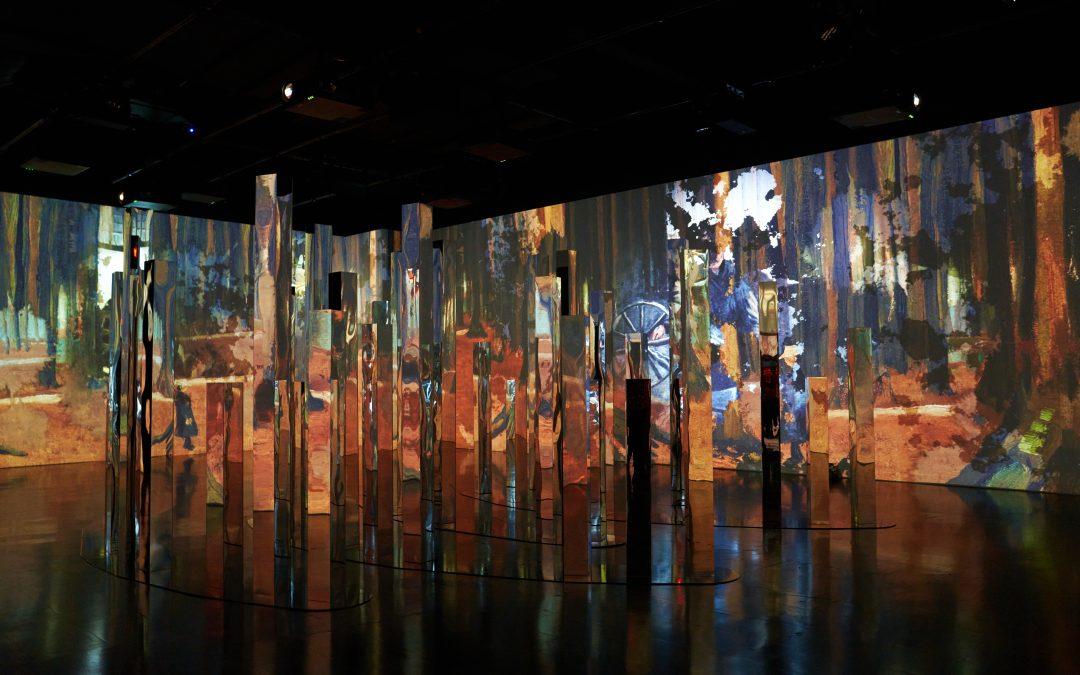 Mit Meyer Sound Systemen die faszinierenden immersiven Van Gogh Ausstellungen erleben